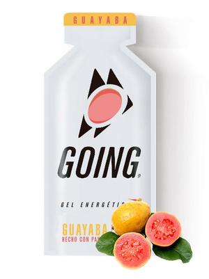 Going Gel Energético - 33g - Goiaba (Caixa 24 Unidades)