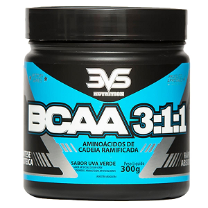 BCAA 3:1:1 - MORANGO - 3VS Nutrition - 300g