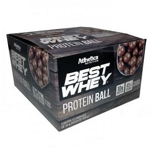 Best Whey Protein Ball 50g - Chocolate ao Leite - (1 Caixa 12 Unidades)