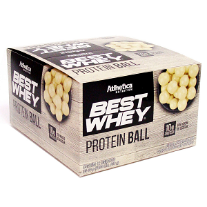 Best Whey Protein Ball 50g - Chocolate Branco - (1 Caixa 12 Unidades)