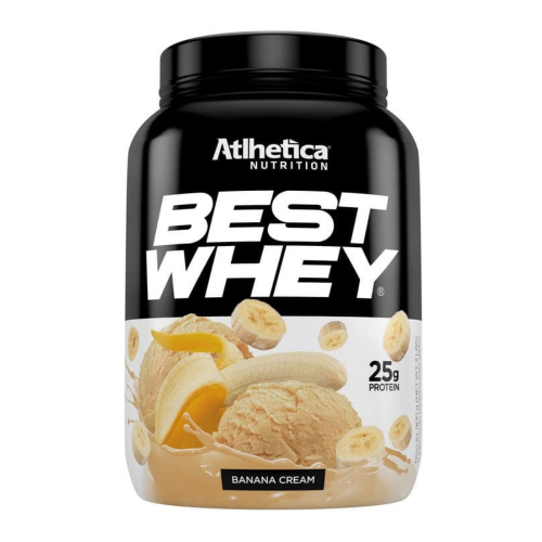Best Whey Sabor Banana (900g) - Atlhetica Nutrition