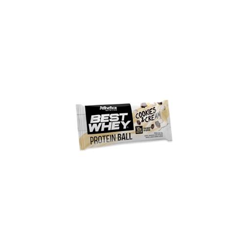 Best Whey Protein Ball Sabor Cookies & Cream (1 Unidade de 50g) - Atlhetica Nutrition
