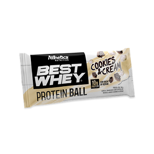Best Whey Protein Ball 50g - Cookies & Cream (1 unidade)