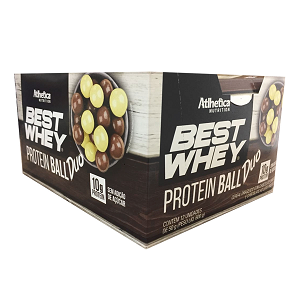 Best Whey Protein Ball 50g - Duo (1 Caixa 12 Unidades)