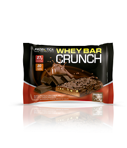 Whey Bar Crunch (Chocolate) - Probiótica 70g