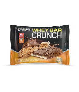 Whey Bar Crunch (Cookies & Cream) - Probiótica 70g