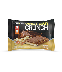 Whey Bar Crunch (Amendoim) - Probiótica 70g