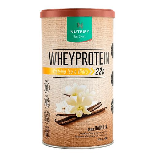 Whey Protein Nutrify - Cacau - 450g