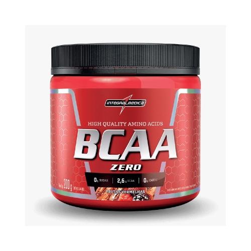 BCAA Powder 4:1:1 - Integralmédica - 200g - Frutas Vermelhas