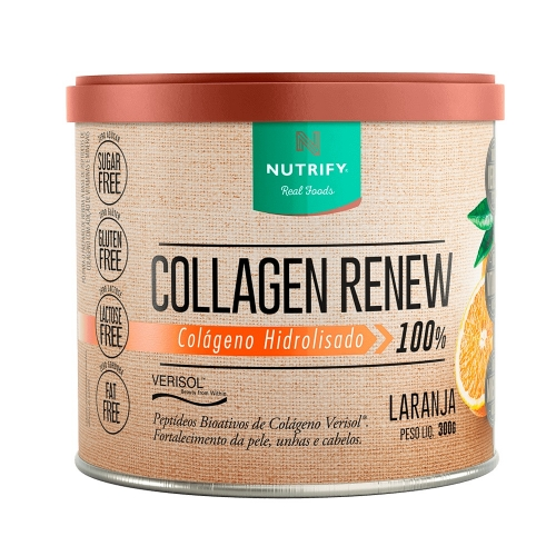 Collagen Renew - (Laranja) - Nutrify - 300g