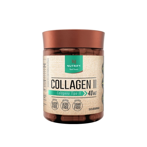 Collagen II (60 Cápsulas) - Nutrify