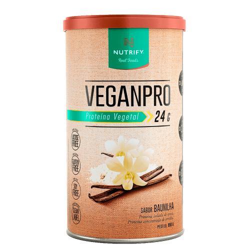 VeganPro Baunilha (550g) - Nutrify