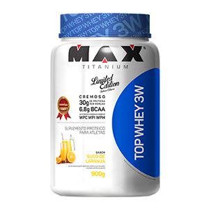 Top Whey 3W Sabor Laranja (900g) - Max Titanium