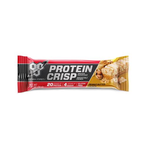 Protein Crisp Bar Sabor Peanut Butter Crunch (56g) - BSN