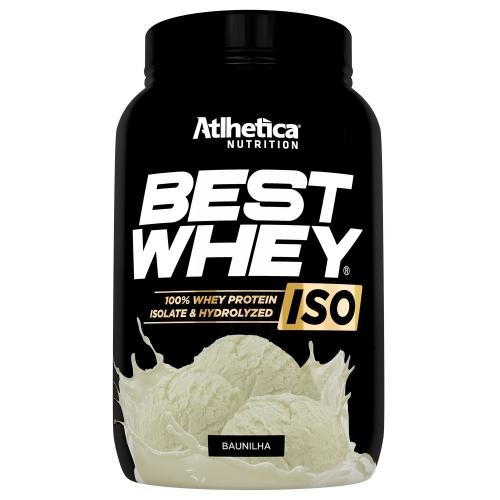 Best whey Iso 900g Sabor Baunilha - Atlhetica Nutrition