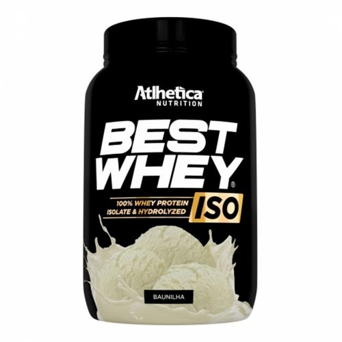 Best Whey Iso Sabor Baunilha (900g) - Atlhetica Nutrition