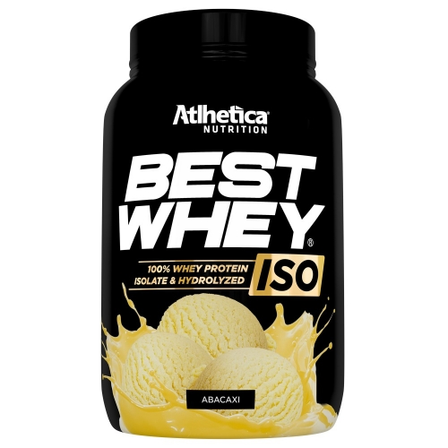 Best whey Iso 900g - Sabor Abacaxi - Atlhetica Nutrition