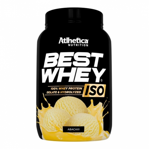 Best Whey Iso Sabor Abacaxi (900g) - Atlhetica Nutrition