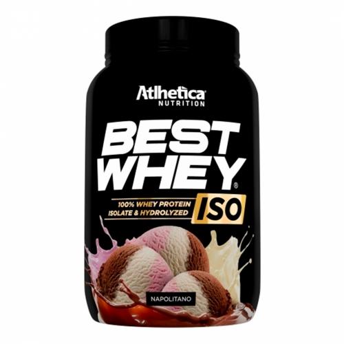 Best whey Iso Sabor Napolitano (900g) - Atlhetica Nutrition