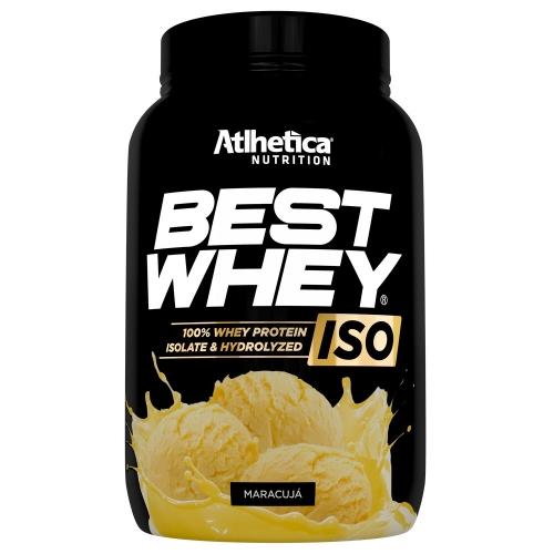 Best whey Iso 900g Sabor Maracujá- Atlhetica Nutrition