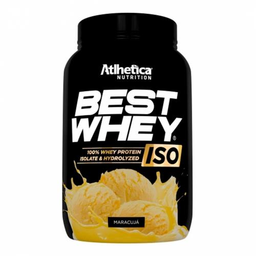 Best whey Iso Sabor Maracujá (900g) - Atlhetica Nutrition