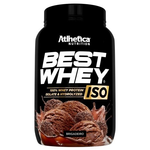 Best whey Iso 900g Sabor Brigadeiro - Atlhetica Nutrition