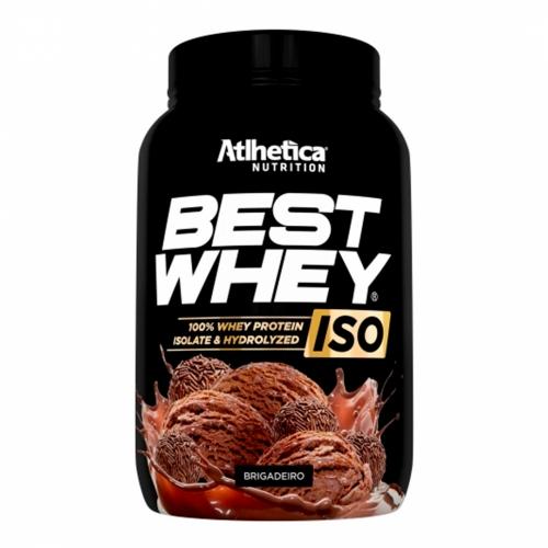 Best Whey Iso Sabor  Brigadeiro (900g) - Atlhetica Nutrition