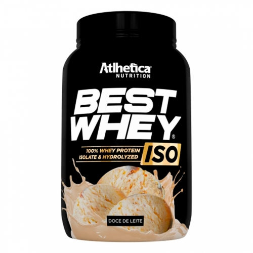 Best Whey Iso Sabor Doce de Leite (900g) - Atlhetica Nutrition
