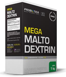 Mega Maltodextrina - Probiótica - Limão - 1Kg