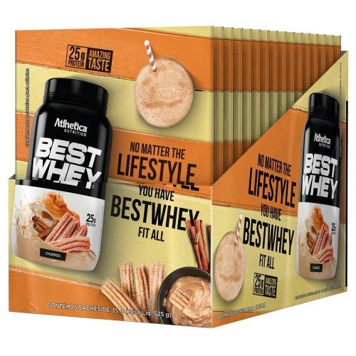 Best Whey - Cookies - Atlhetica Nutrition ( 1 Caixa 15 Unidades)