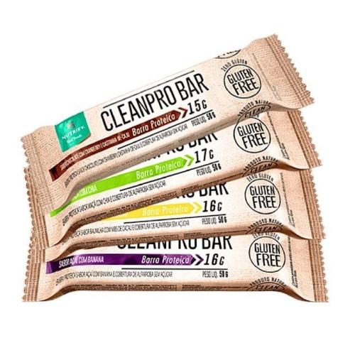Cleanpro Bar - Chocolate - Caixa 10 Unidades - Nutrify
