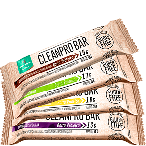 Cleanpro Bar - Maça com chia - Caixa 10 Unidades - Nutrify