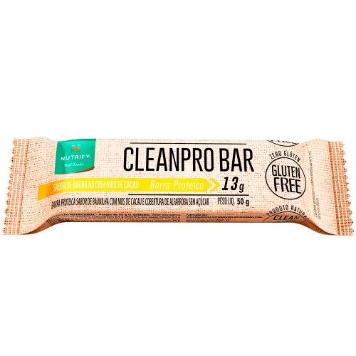 Cleanpro Bar Sabor Baunilha NIbs (1 unidade de 50g) - Nutrify