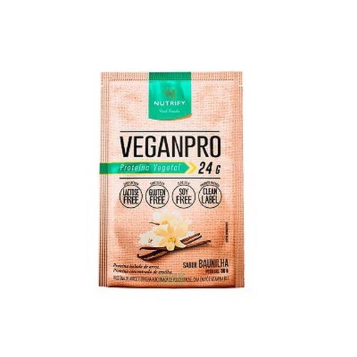 Vegan Pro - Baunilha - 1 Sachê 30g - Nutrify