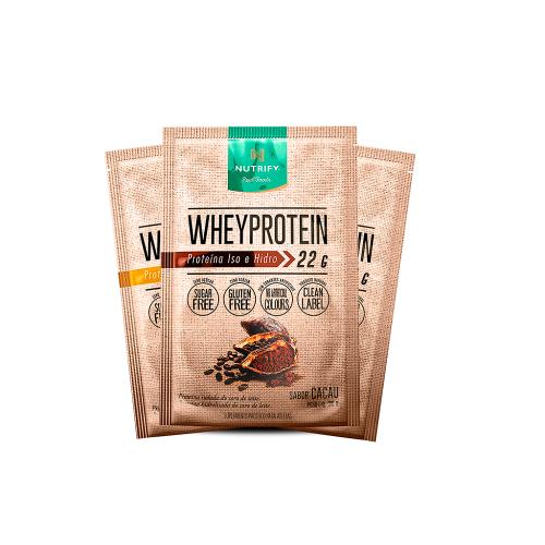 Whey Protein Nutrify - cacau - 1 sachê 30g