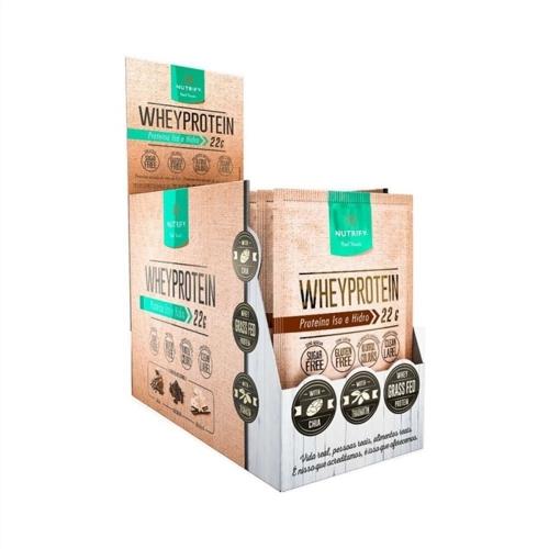 Whey Protein Nutrify - Baunilha - Caixa 15 sachês 30g