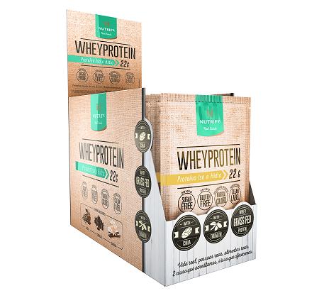 Whey Protein Nutrify - Chocolate- Caixa 15 sachês 30g