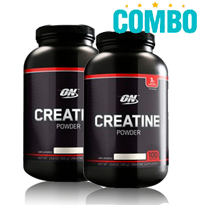 Creatina powder - 2 Unidades  Black Line - 150g - Optimum Nutrition
