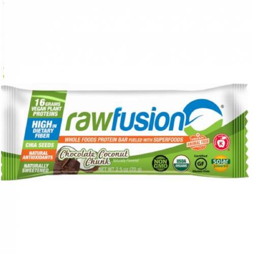 Raw Fusion Barra - Chocolate Coconut (1 Unidade 70g) - San Corporation