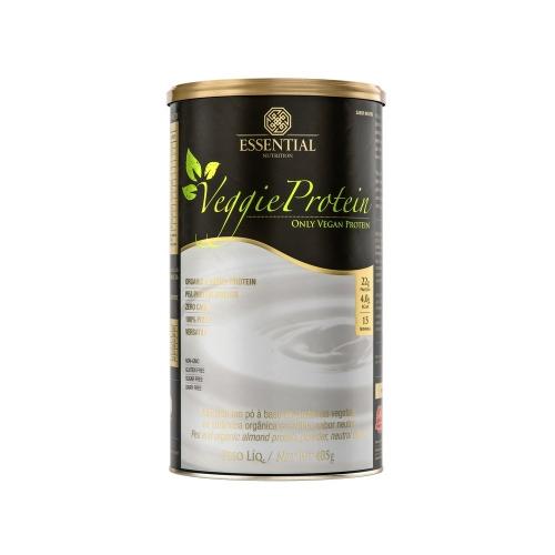 Veggie Protein - Proteína 100% Vegetal - Neutro - Essential - 405g