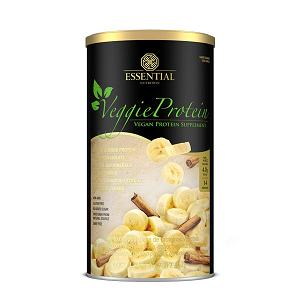 Veggie Protein - Proteína 100% Vegetal - Banana - Essential - 405g
