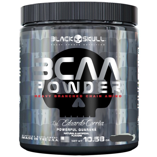 BCAA Powder - sabor Guaraná (150g) Black Skull