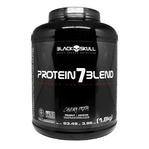 Protein 7 Blend Sabor Chocolate (1,8kg) - Black Skull