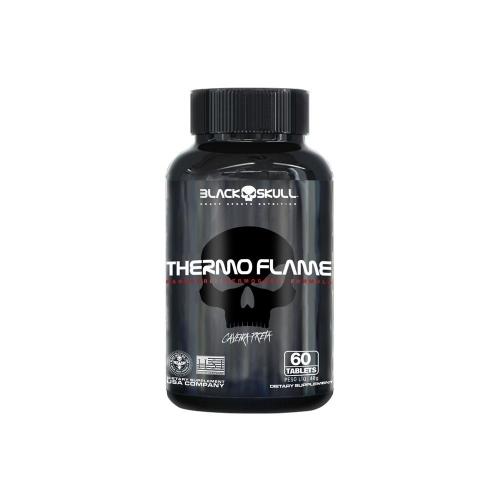 Thermo Flame Caveira Preta (120 Tabletes) - Black Skull