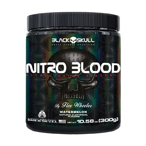 Nitro Blood - Morango - Black Skull - 300g