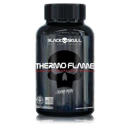 Thermo Flame Caveira Preta (60 Tabletes) - Black Skull