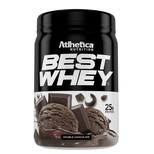 Best Whey (450g) Sabor Double Chocolate - Atlhetica Nutrition
