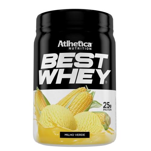 Best Whey (450g) Sabor Milho Verde - Atlhetica Nutrition