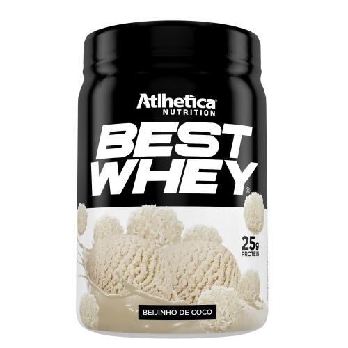 Best Whey (450g) Sabor Beijinho de Coco - Atlhetica Nutrition