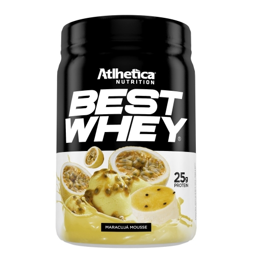 Best Whey (450g) Sabor Maracujá Mousse - Atlhetica Nutrition